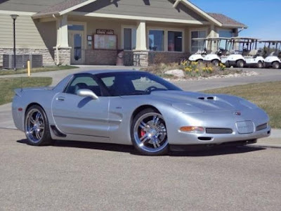2002 Corvette Z06 at Purifoy Chevrolet