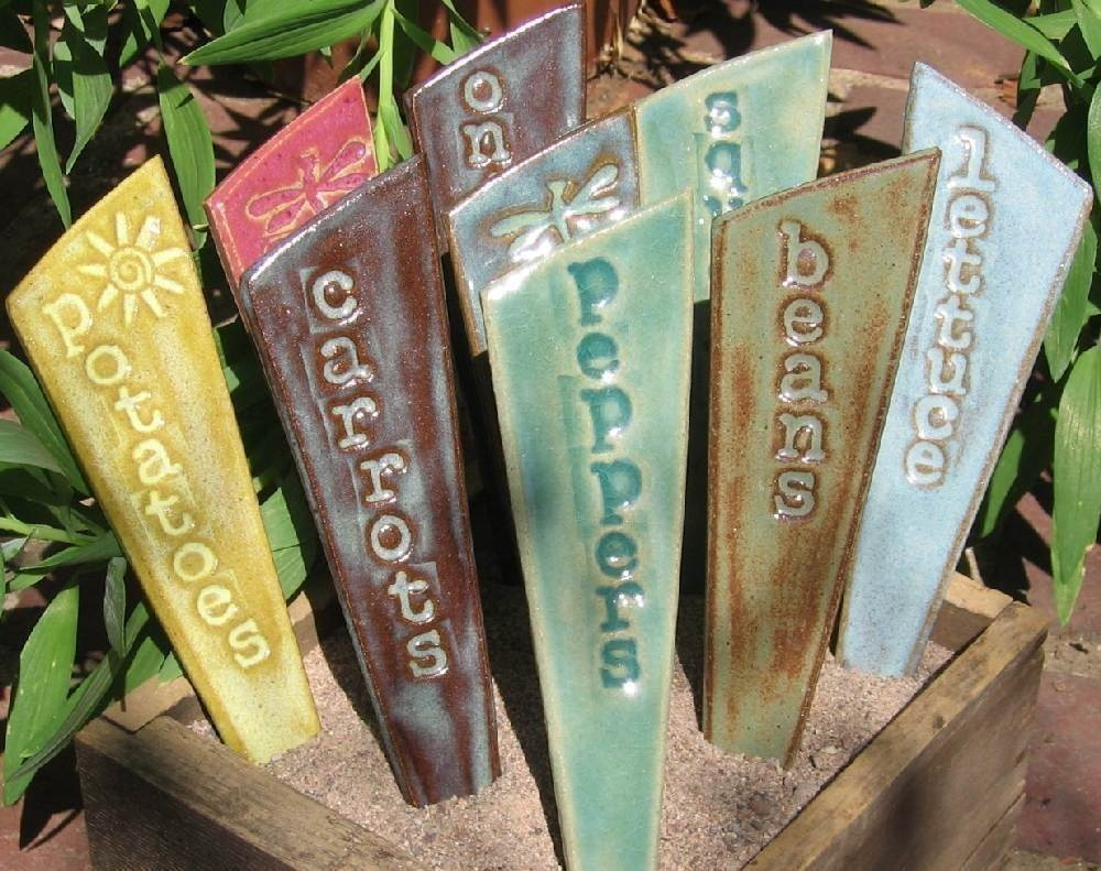 DesiKalakar: Plant Markers DIY Collection