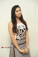Actress Vanditha Stills in Short Dress at Kesava Movie Success Meet .COM 0078.JPG
