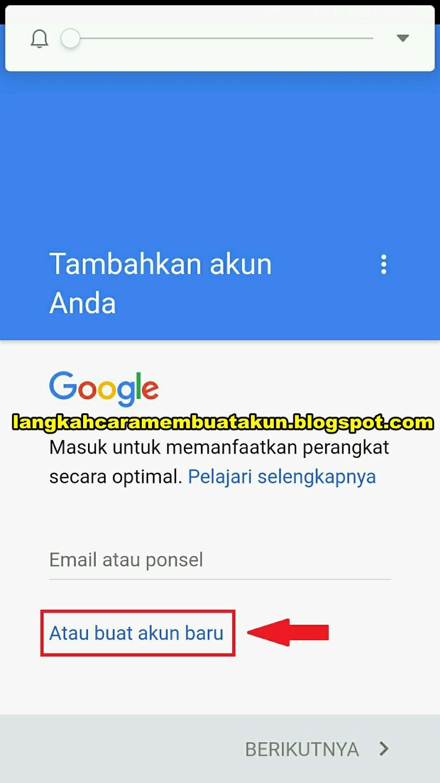 Daftar Email Gmail Indonesia Gratis Lewat Hp Android