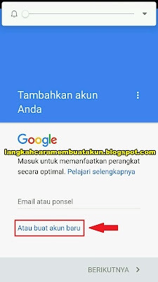 Daftar Email Gmail  Indonesia Gratis Lewat Hp Android | Google Indonesia