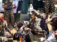 VIDEO: Bendera Tauhid dibakar BANSER