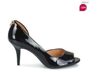 zapatos negros de Michael Kors en rebajas
