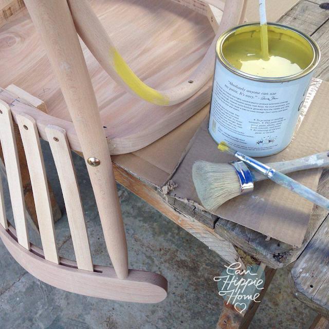 Sillas de madera de colores - Muebles de Can Hippie Home