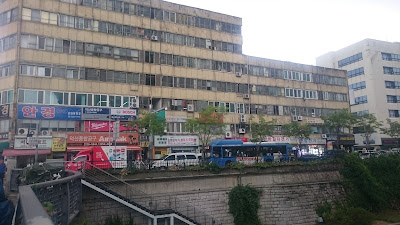 Ugly building near Dongdaemun