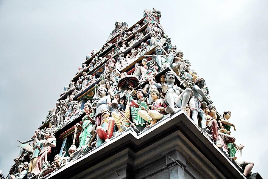 singapore temple buddha