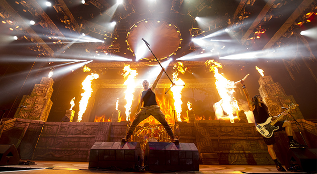 Iron Maiden The Book Of Souls World Tour 2017
