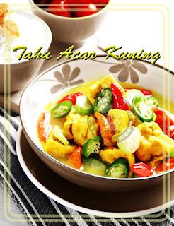 Resep Tahu Acar Kuah Kuning Segar dan Nikmat