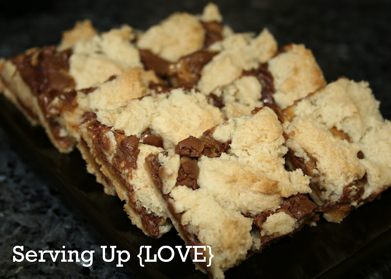 Katherine S Kitchen Serving Up Cookies Rolo Cake Mix Bars