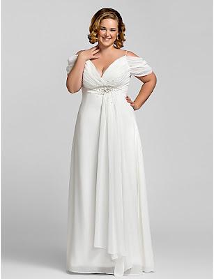 vestidos de gala largos para jovenes blanco