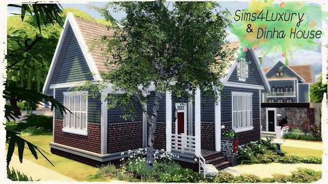 Sims 4 Small Suburban House