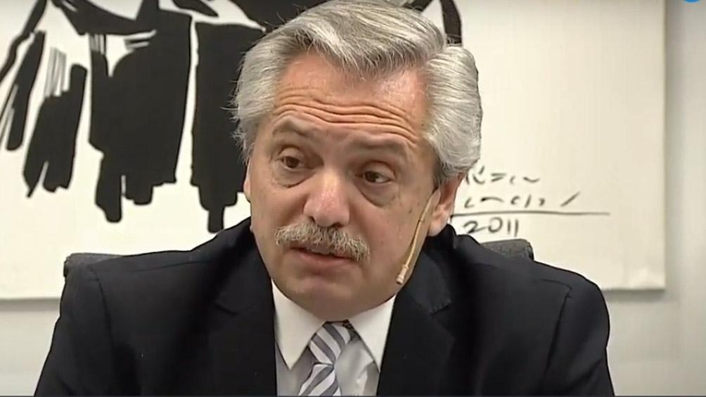 Fernández, sobre la liberación de presos: Si un juez hizo algo indebido, deberá explicarlo