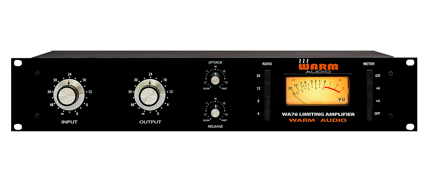 The WA76 Discrete Compressor and the Original Urei 1176 Peak Limiter.