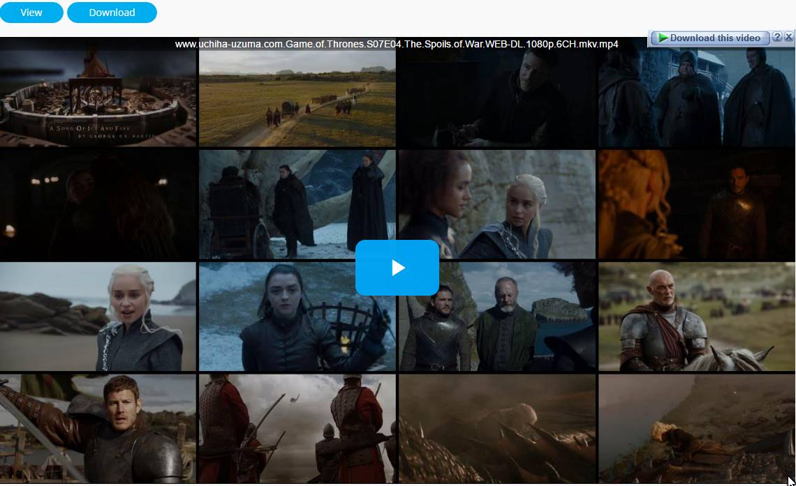 Screenshost Game Of Thrones Season 7 (2017) Episode 04 WEB-DL 1080p 720p 480p 360p 6CH MKV MP4 Subtitle English - Indonesia Free Full Movie