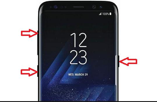 Cómo resetear de fabrica o hard reset Samsung Galaxy S8