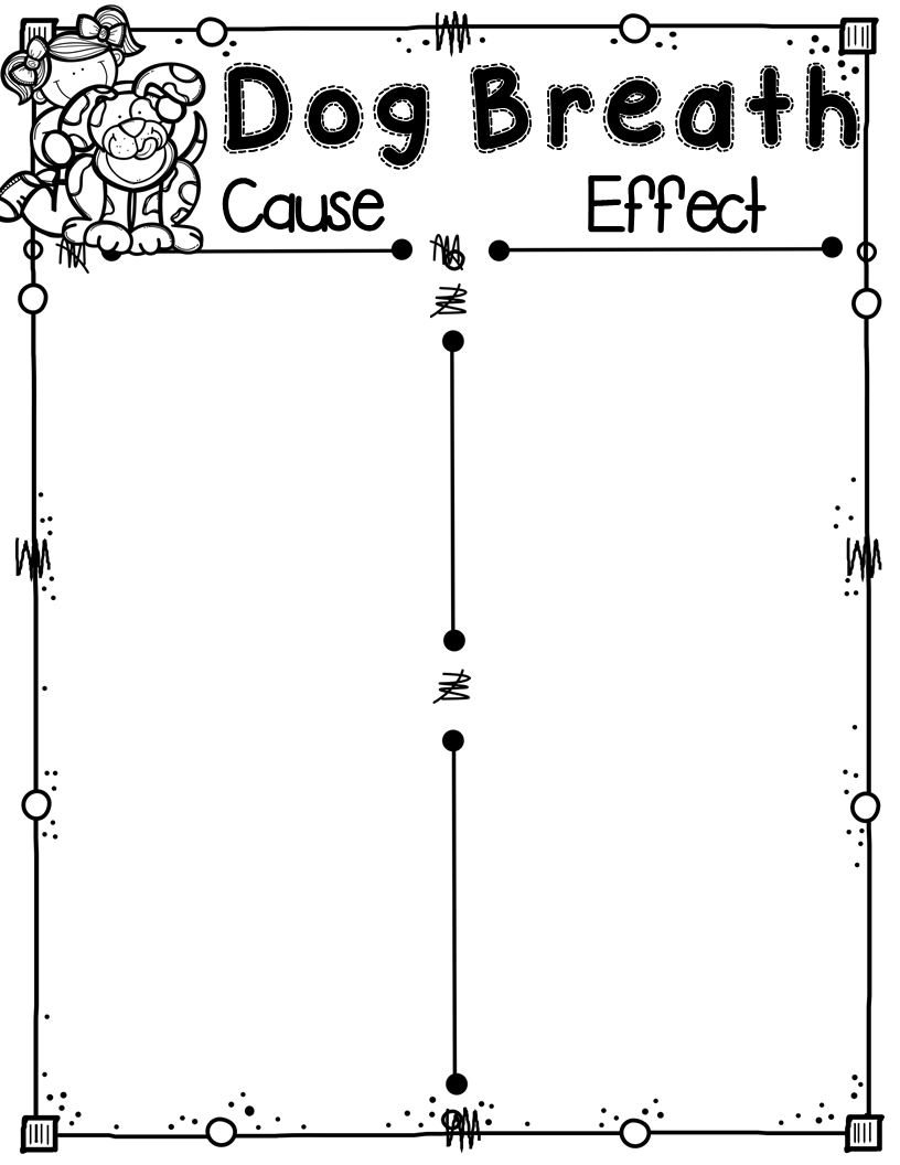 Teaching Fourth: Cause and Effect and Free Graphic Organizer