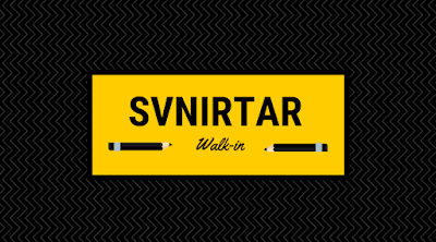 SVNIRTAR Walk-IN 2018 (Salary Range: Rs.40,000 to Rs.50,000)