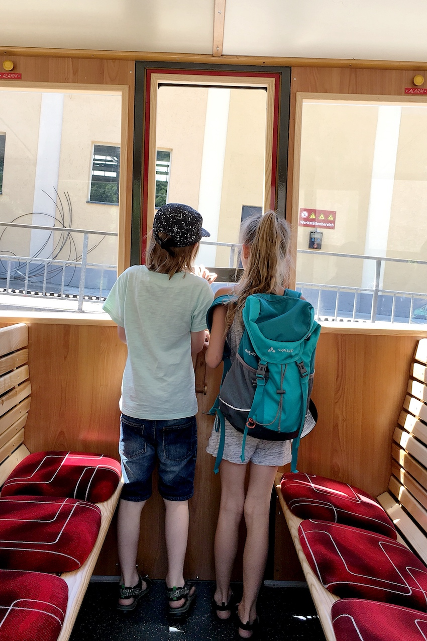 Schafbergbahn Innenansicht