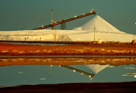 Dampier salt flats of Pilbara