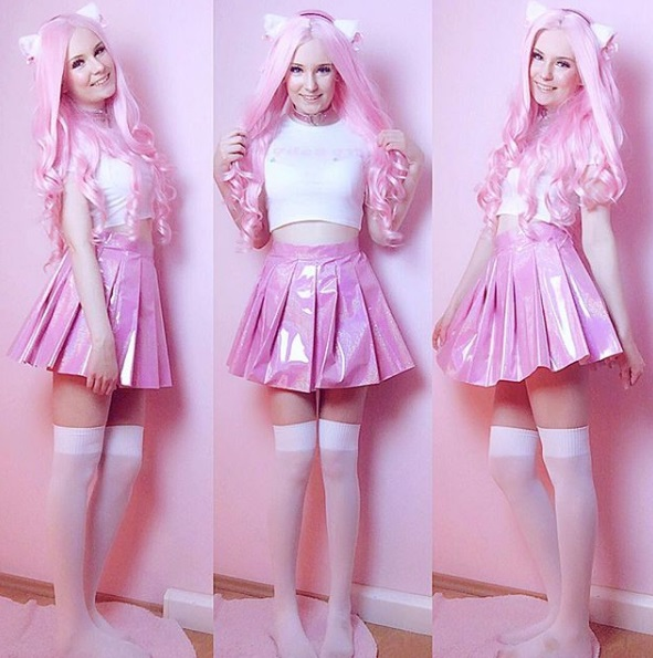 kawaii fashion cute outfits pastel pink hair pretty clothes jfashion fashion blogger blog lealolly pink skirt
