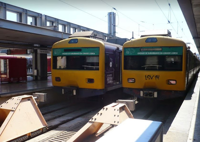 Treni tra Lisbona e Cascais