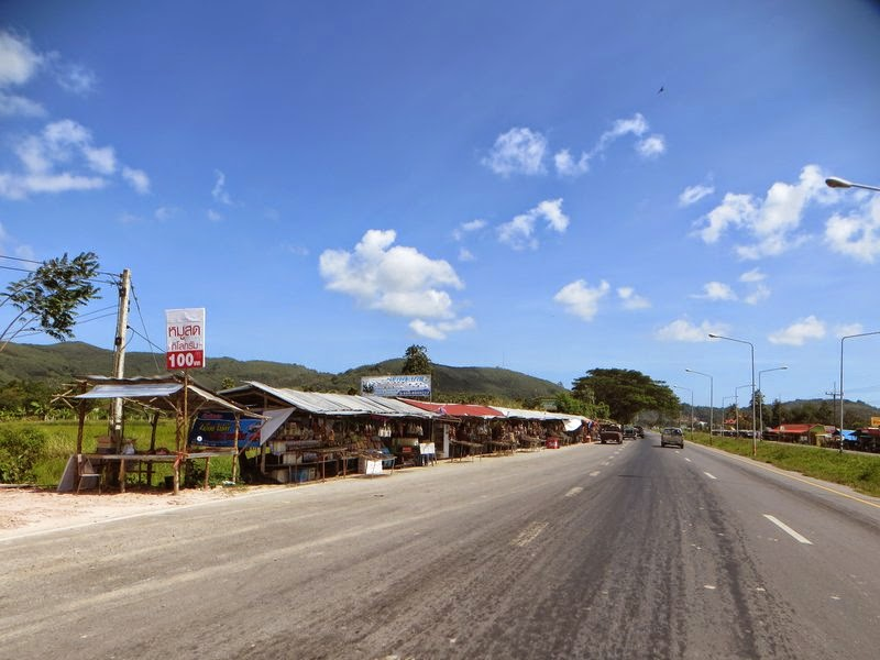 рынок у дороги Таиланд