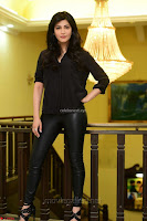 Shruti Haasan Looks Stunning trendy cool in Black relaxed Shirt and Tight Leather Pants ~ .com Exclusive Pics 066.jpg