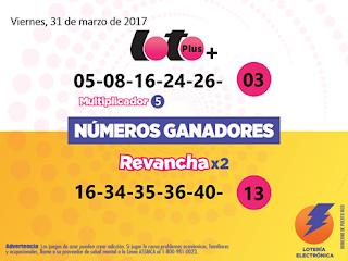 numeros-ganadores-loto-plus-revanchax2-viernes-31-3-2017