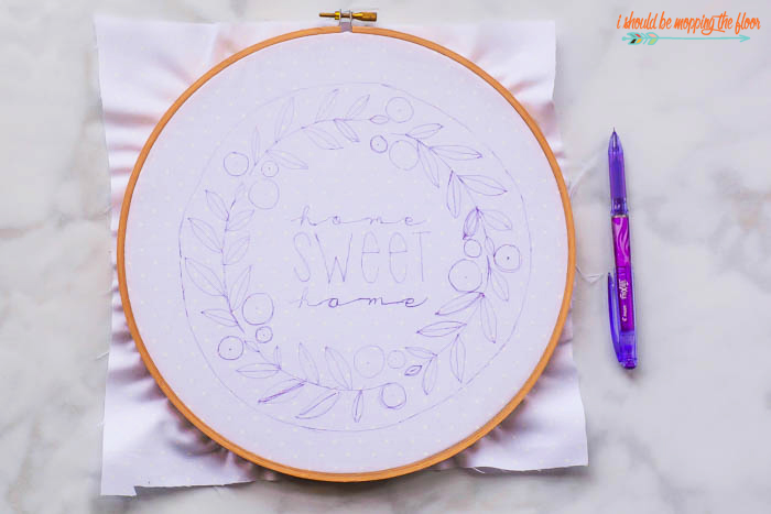 Tracing Hoop Art