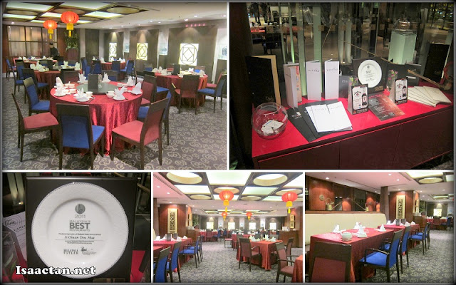 Chinese restaurant environment and decor of Si Chuan Dou Hua