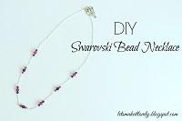 DIY Swarovski Bead Necklace