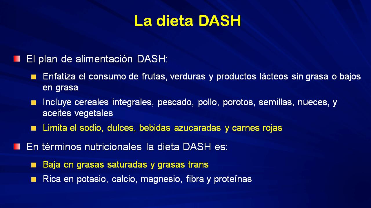 Dieta de enfermedad y hipertensión