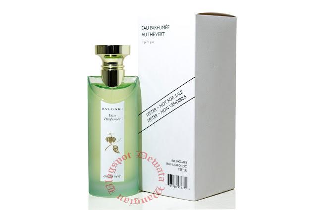 Bvlgari Eau Parfumee Au The Vert Tester Perfume