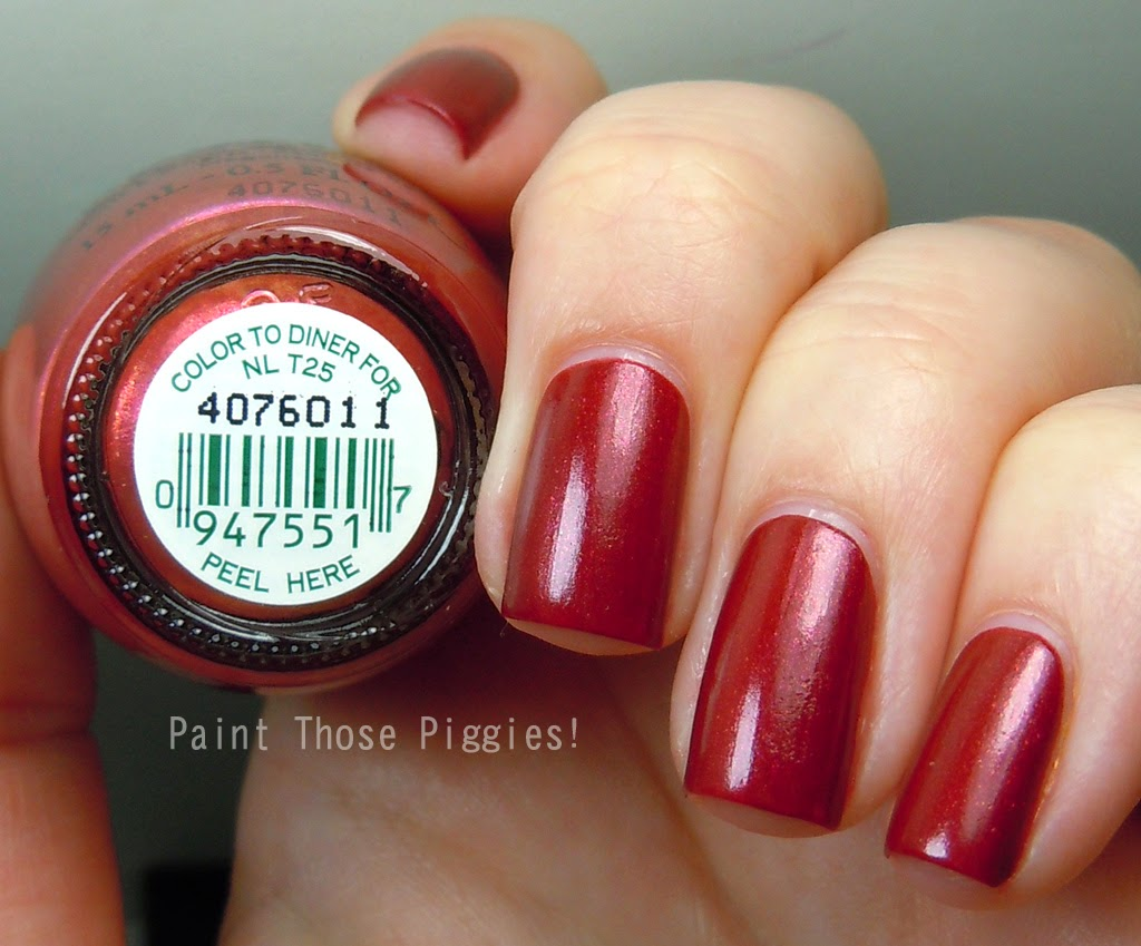 Opi Color To Diner For Paint Those Pig...