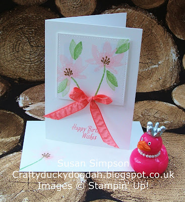 Stampin' Up! UK Independent Demonstrator Susan Simpson, Craftyduckydoodah!, Avant Garden SAB 2017, Coffee & Cards Project February 2017, Supplies available 24/7,