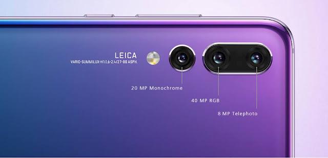 Smartphone Huawei P20 Pro xài 3 camera làm chi?