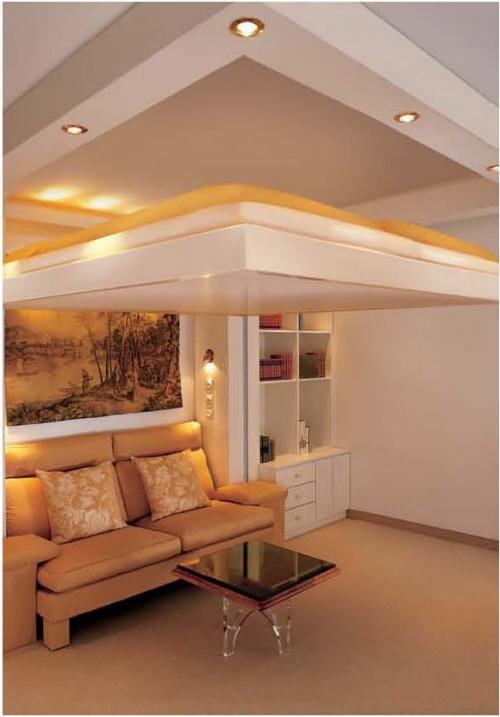 Espacios interiores camas innovadoras para espacios peque os for Diseno de interiores espacios reducidos