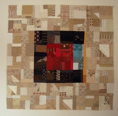 My AHIQ Make-Fabric Geese