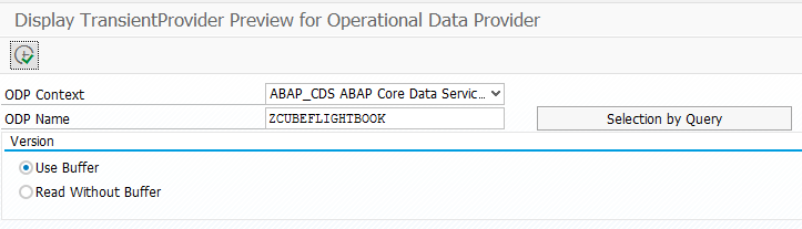 SAP ABAP Central: Create an analytical model based on ABAP