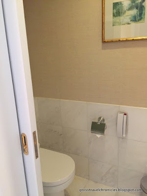 toilet in a separate room