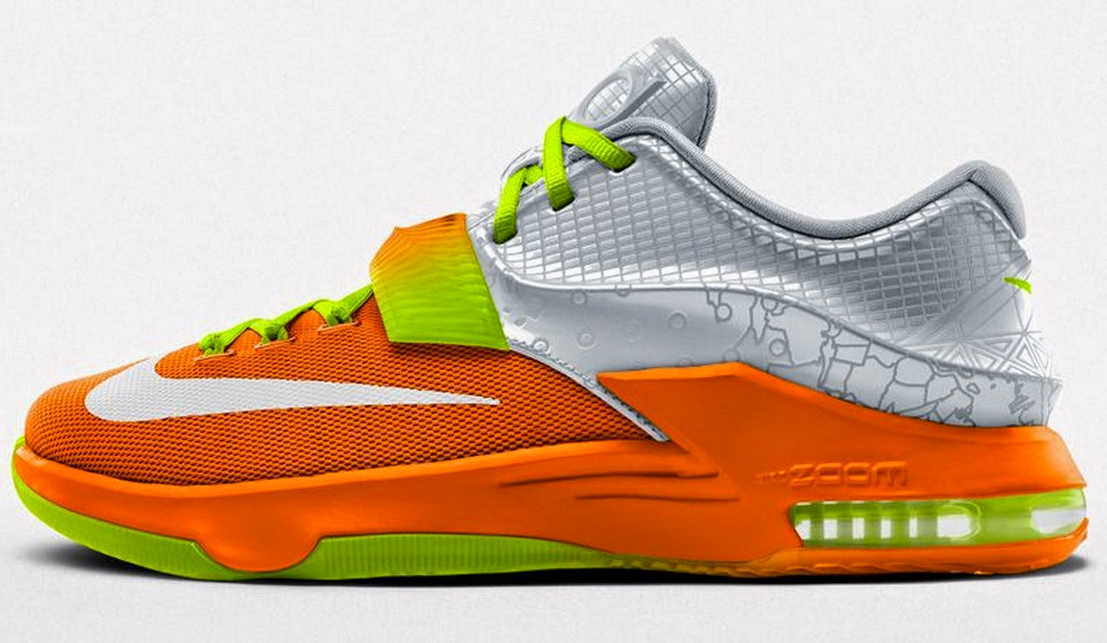 The Sneaker Addict Design Your Own Nike Kd 7 Allstar Edition