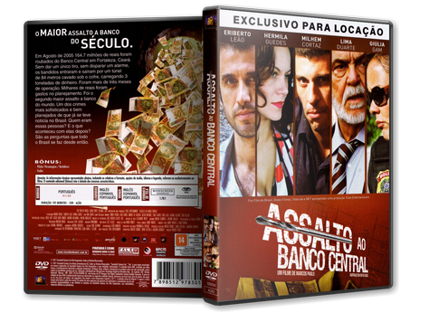 Capa DVD Assalto ao Banco Central