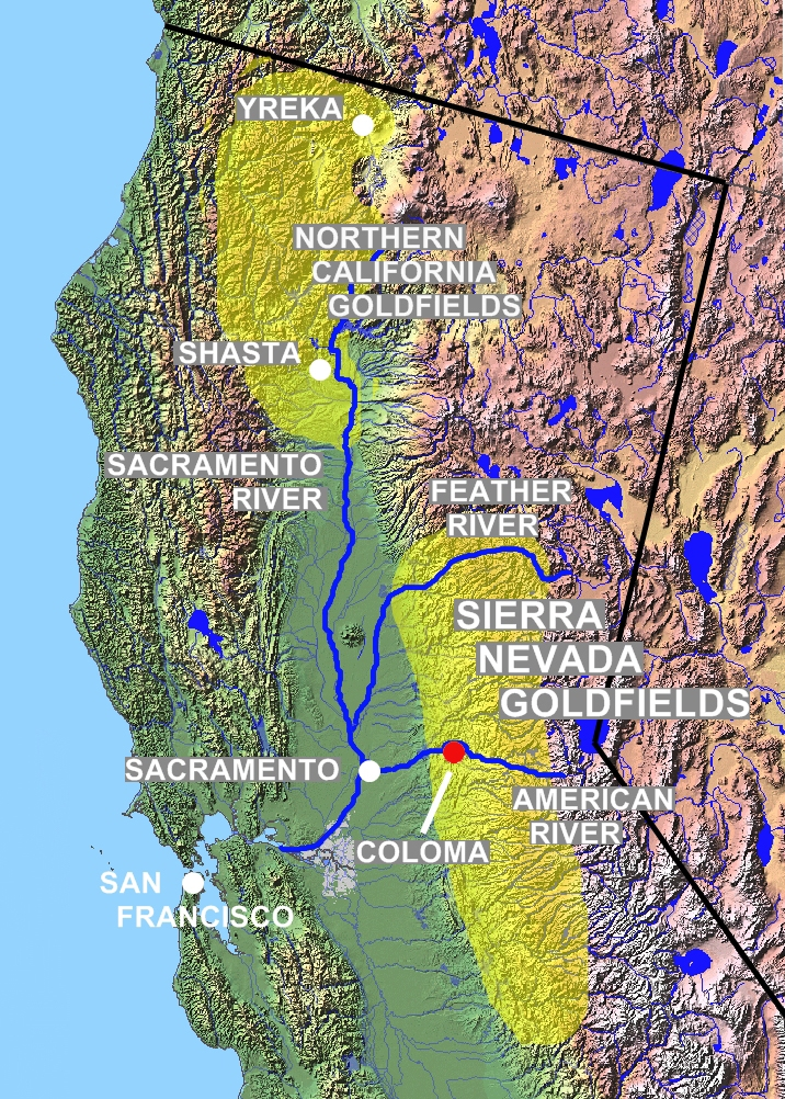 Prairie rose publications a little history about the northern mines shasta county was one of the northern counties to grow into a destination for the early argonauts after gold was discovered along clear creek in 1848 by gumiabroncs Gallery