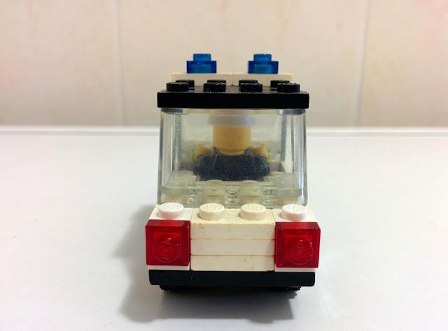 LEGO set 6623  automobile della Polizia - police car