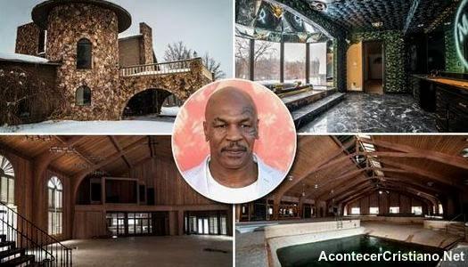 Mansión de Mike Tyson se convierte en iglesia