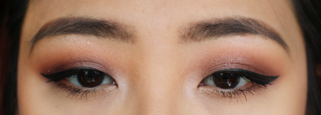 Purple Smokey Eye Pictorial using Makeup Geek Cosmetics Eyeshadows