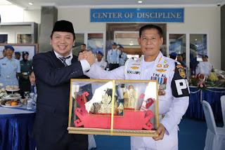 Ridho Ficardo Jadi Keluarga Kehormatan Polisi Militer Angkatan Laut