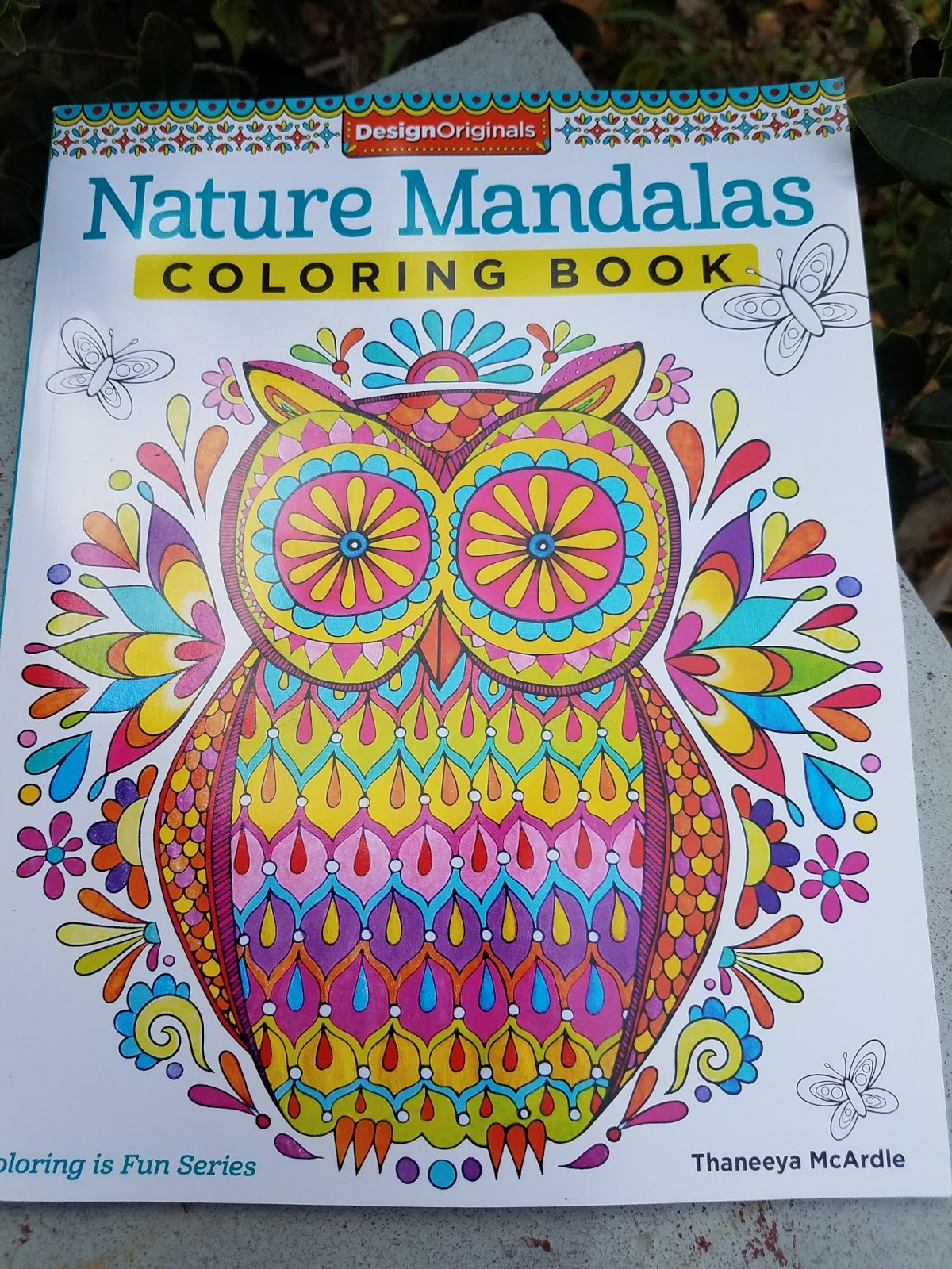 Nature Mandalas Coloring Book