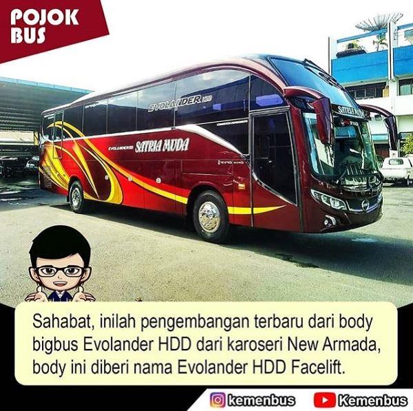 bigbus Evolander HDD Facelift New Armada