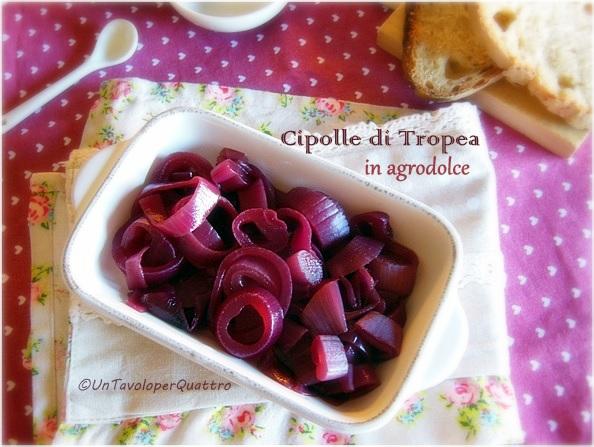 cipolle di tropea in agrodolce al vino